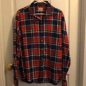 J.Crew flannel Slim Fit Button Up